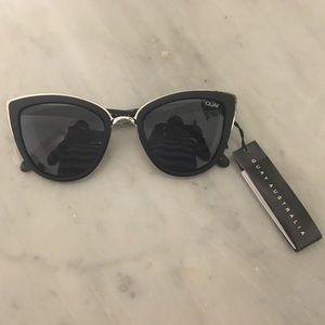 Quay Australia Accessories - Quay Australia My Girl Sunglasses in Black/Smoke
